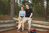 A very nice couple i met at Hawn State Park