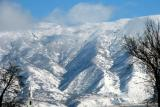 Snow on the mountains............