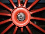 Wagon Wheel Spokes in Red...........