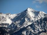 Plenty of snow on the mountains.............
