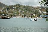 Grenada Harbor After Hurricane Ivan