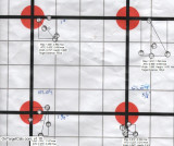 Eley Match EPS 22LR Ammunition 4 groups @ 100yds