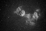 Jellyfish Nebula (IC 443) in Gemini