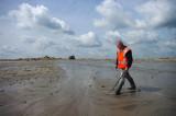 Fossielen struinen op het zanddepot van De Groote Wielen bij Den Bosch