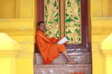 In a quiet corner of Wat Mixai