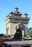 Patuxai, the Lao Victory Gate