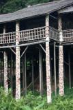 Orang Ulu house >>