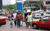 Kuching - people and streets >>