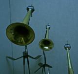 blue horns