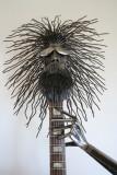 guitar man head
