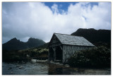 boat shed, Dove Lake