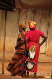 Women in Oba market