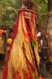 Igbo funeral masquerade, Oba