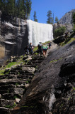 Mist Trail at Vernal Falls