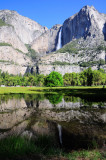 Yosemite Falls from Cook Meadow