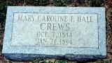 Mary Caroline Frances Hall (1844-1894)