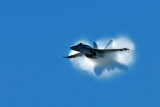 WOH_9540 F18A Superhornet nearing speed of sound