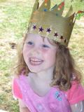 Isabel wears the Crown