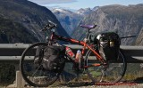 352    Michal - Touring Norway - Rock Machine Highlander touring bike
