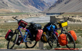 353    Björn & Even - Touring India - Trek 3900 touring bikes