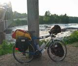 008  Maxime - Touring Québec - Mikado touring bike