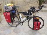 002  Gonzalo - Touring through California - Avanti Pioneer touring bike