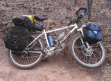 018 Mike - Touring through Zambia - On-One Inbred touring bike