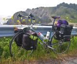 065  John - Touring through California - Bianchi Sanremo touring bike