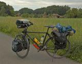 075  Andreas - Touring through Switzerland - VSF T300 touring bike