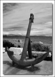 Anchor from the American Schooner Thomas Woodward. Circa 1840