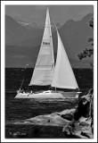 Sailing around the Point
