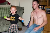 Lucas and Dad