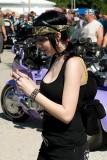 Chimping Biker Babe