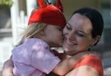 Kissing Mom's Cheek