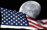 Moon-USFlag