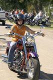 Lady Biker, Harley Fatboy