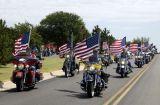Patriot Guard Bikers Rolling