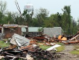 Tornado Destruction  Picher Oklahoma