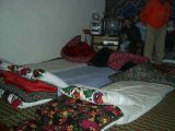 Overnight in a farm on the way to the Pamirs