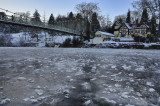 frozen river severn
