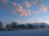 shropshire frost and mist.