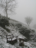 cold place to sit