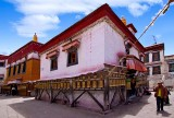 The old city of Lhasa