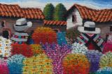 Detail of Peruvian weaving