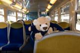 Transilien train seat