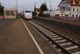ICE train approaching Salach