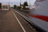 ICE train passed Salach