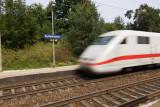 ICE train passing Kutzenhausen