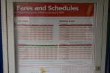 Franconia timetable