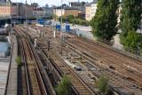 Gamla Stan-Slussen tracks